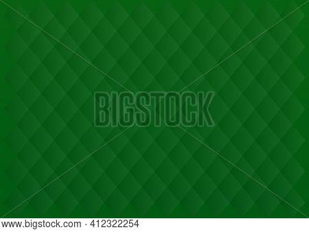 Luxury Elegant Green Background. Green Tartan Background. Vector Illustration