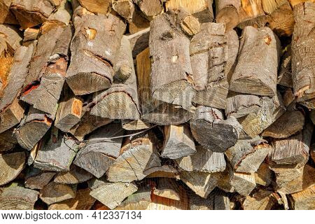 Preparation of firewood for the winter