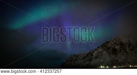 Northern lights in Norway Aurora ??? in Skaftafell, iceland