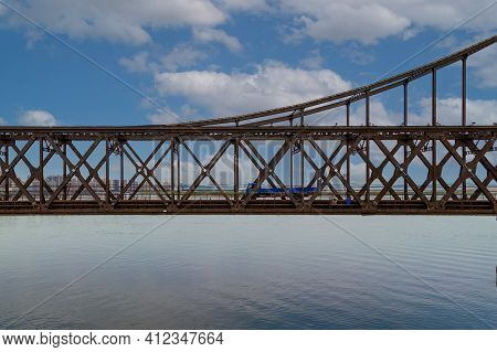 中国-丹东-鸭绿江断桥