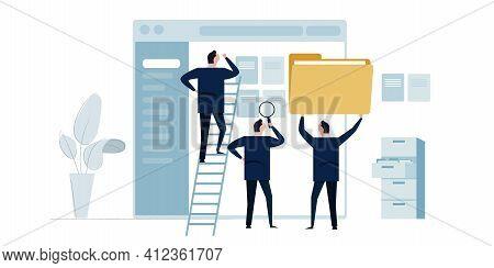 Document Management Software Team Organize File And Folder Organization Corporate Office Paperwork
