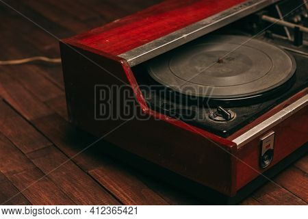 Retro Turntable Old Collection Technology Musical Instruments