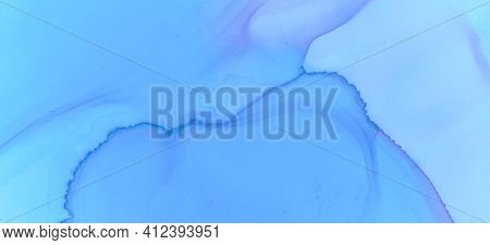 Blue Watercolour Wallpaper. Modern Ink Stains Marble. Fashion Ink Stains Marble. Pink Pastel Flow Li