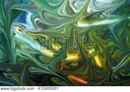 Decorative Marble Texture, Abstract Ink Background, Can Be Used As A Background For Wallpapers, Post