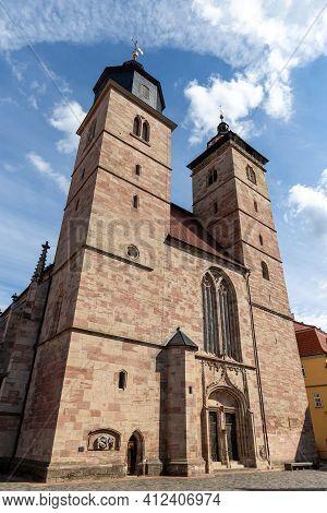 Church Saint Georg In The City Schmalkalden, Thuringia