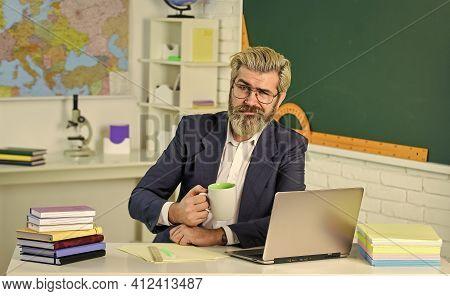 More Coffee Please. Senior Teacher Drink Coffee. School Break. Hot Energy Drink. Increasing Energy L