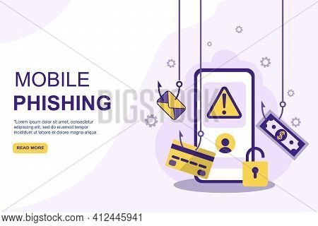Phishing Alert Security Mobile App, Solution For Personal Data And Finances Secure From Unauthorized