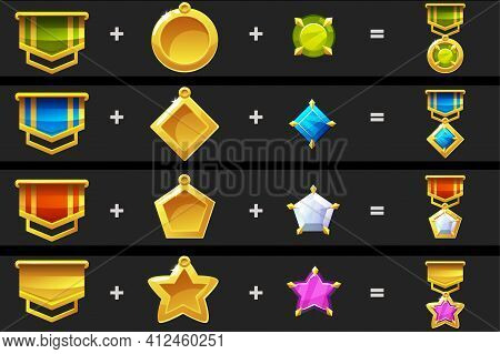 Constructor With Details For Medals For The Game.