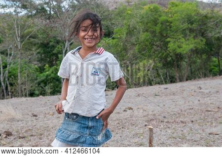People Living In A Rural Areas Of Rivas In Nicaragua Rely On Raising Cattle An Vegetable Growth For