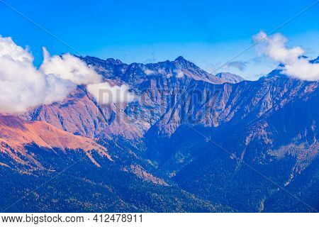 Caucasus Mountains, Rosa Khutor, Sochi