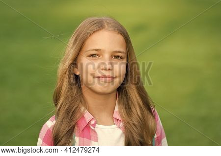 Simply Beautiful. Beauty Of Little Girl. Beauty Look Of Small Child. Hair And Beauty Salon. Fashion