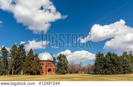 Chamberlin Observatory In The Observatory Park, Denver, Colorado