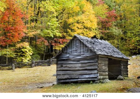 Log Cabin Smoky Mountains