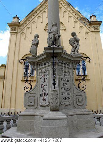 Bratislava, Slovakia - 10 Jun 2011: The Monument In Bratislava, Slovakia