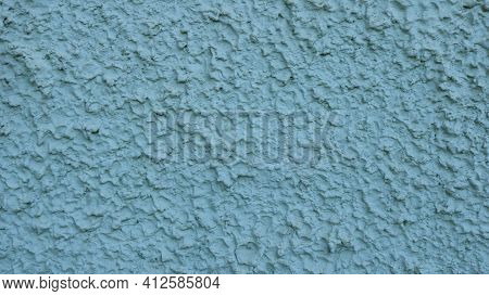 Graphic Resource Of Embossed Surface Exterior Wall With Convex Decorative Plaster And Painted In Gre