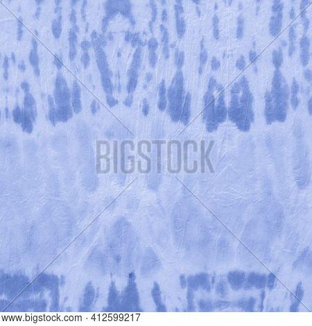 Indigo Batik Dye Textures. Marble Traditional Ethnic Ornament. Seaside Paintbrush Wallpaper. Ocean E