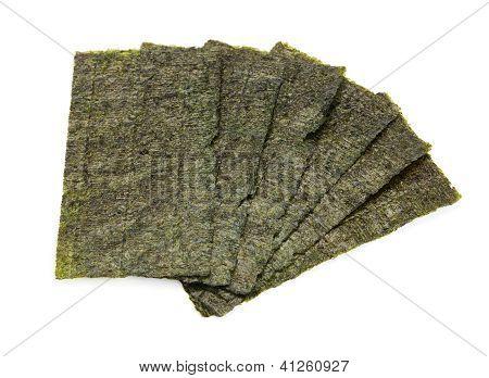 Six Sheets Of Seaweed