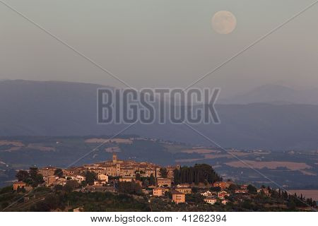 Umbrian Landscapes, Italy