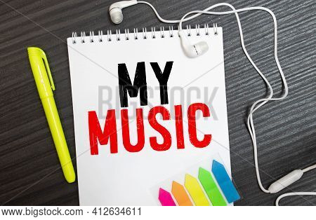 Music Is My Life With Headphones, Concept