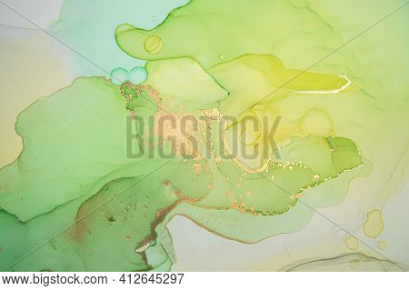 Multicolor Abstract Liquid. Alcohol Inks On Paper. Colorful Wave Mix. Art Acrylic Pattern. Abstract