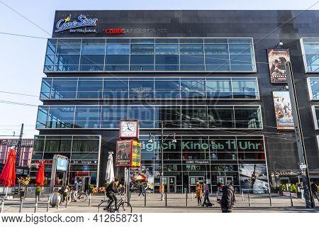 Cinestar Movie Theater In Berlin - Berlin, Germany - March 11, 2021