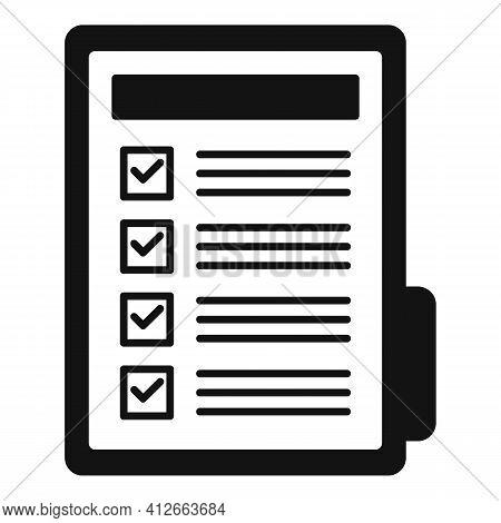 Affiliate Marketing Folder Icon. Simple Illustration Of Affiliate Marketing Folder Vector Icon For W