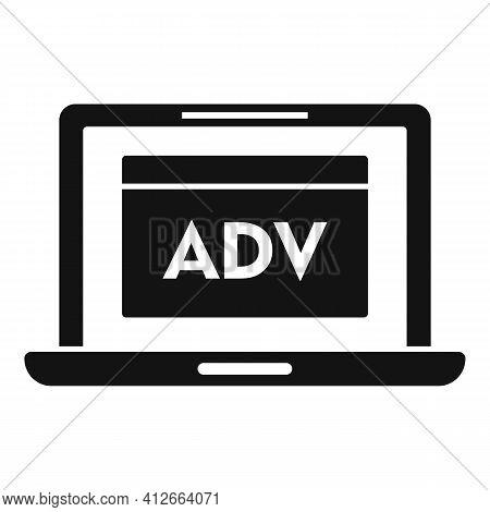 Laptop Affiliate Marketing Icon. Simple Illustration Of Laptop Affiliate Marketing Vector Icon For W