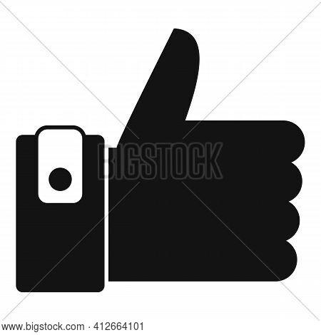 Like Affiliate Marketing Icon. Simple Illustration Of Like Affiliate Marketing Vector Icon For Web D