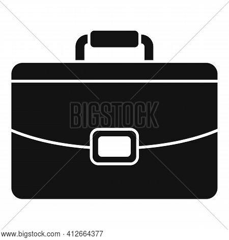 Marketing Briefcase Icon. Simple Illustration Of Marketing Briefcase Vector Icon For Web Design Isol
