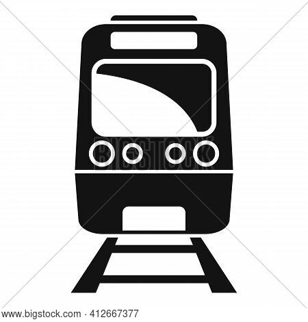 Subway Train Icon. Simple Illustration Of Subway Train Vector Icon For Web Design Isolated On White