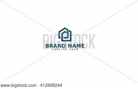 Pd Logo Design Template Vector Graphic Branding Element.
