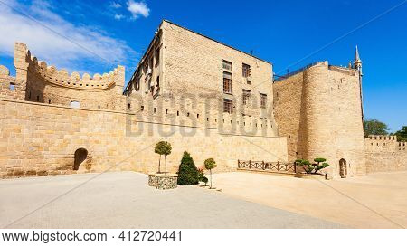 The Old City Icheri Sheher In Baku, Azerbaijan. Inner City Is The Historical Core Of Baku And Unesco