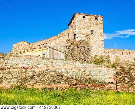 Eptapyrgio Fortress Or Heptapyrgion Fort Is A Byzantine Fortress Situated On The North-eastern Corne