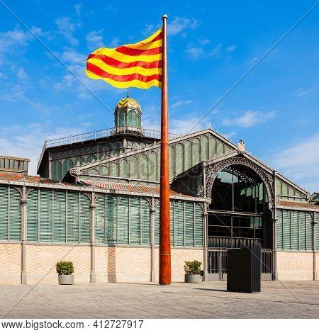 El Born Centre De Cultura I Memoria Or The Born Culture And Memory Centre In Barcelona City In Catal