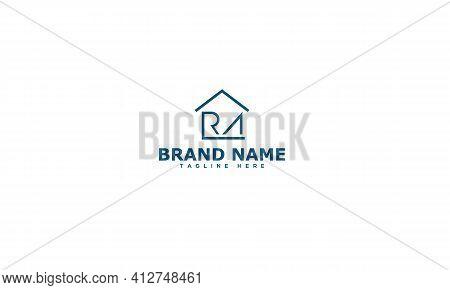 Ra Logo Design Template Vector Graphic Branding Element.
