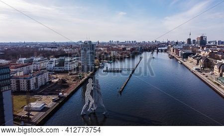River Spree In The City Of Berlin - Urban Photography
