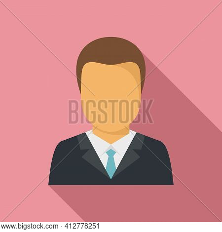 Purchasing Manager Icon. Flat Illustration Of Purchasing Manager Vector Icon For Web Design