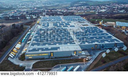 Amazon Logistics Center Germany In Bad Hersfeld - Bad Hersfeld, Germany - March 10, 2021