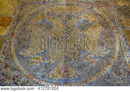 Symbolic Shell, Holy Sepulchre Church, Jerusalem