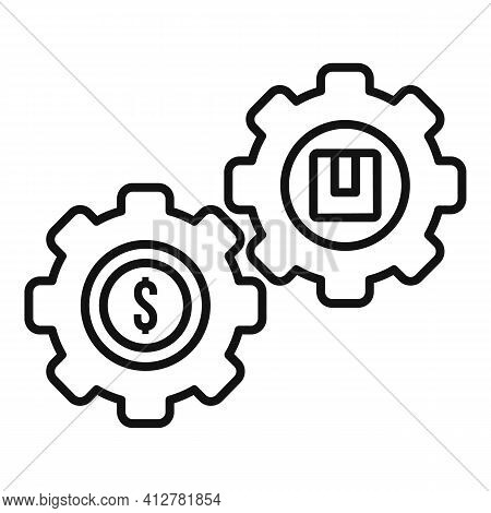 Purchase Mechanism Icon. Outline Purchase Mechanism Vector Icon For Web Design Isolated On White Bac