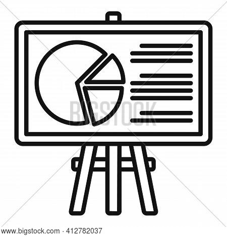 Purchasing Manager Banner Icon. Outline Purchasing Manager Banner Vector Icon For Web Design Isolate