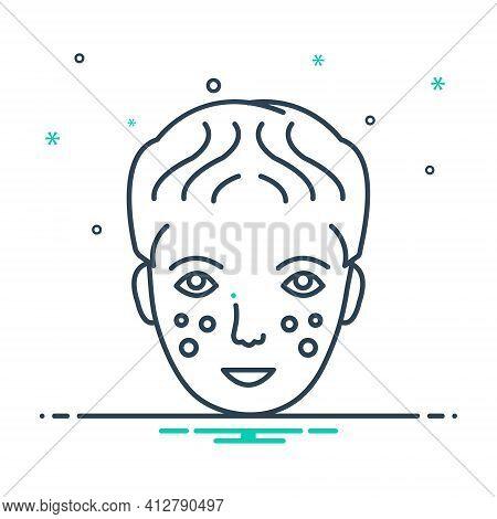 Mix Icon For Dermatology  Dermatologist  Skin-care  Plastic-surgery Laser-dermatology