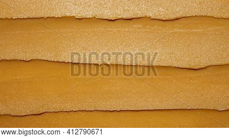 Light Brown Peanut Paste Made From Whole Nuts.peanut Paste Background Top View.peanut Paste Texture