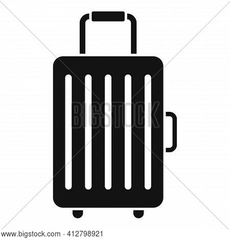 Travel Baggage Icon. Simple Illustration Of Travel Baggage Vector Icon For Web Design Isolated On Wh