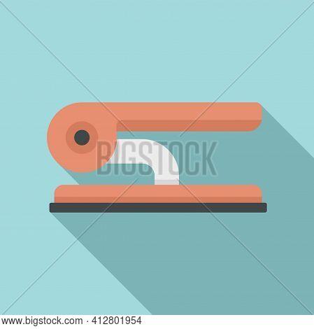 Documents Hole Punch Icon. Flat Illustration Of Documents Hole Punch Vector Icon For Web Design