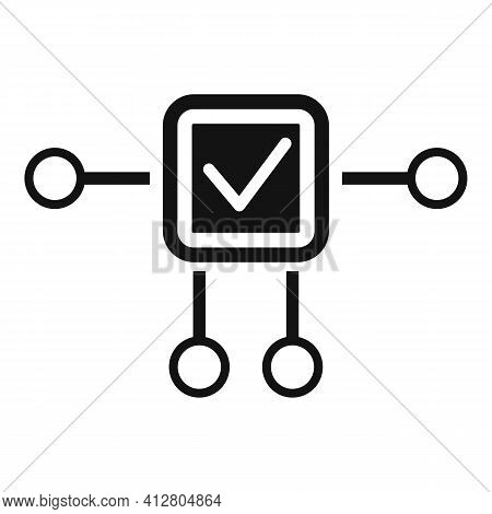 Restructure Plan Icon. Simple Illustration Of Restructure Plan Vector Icon For Web Design Isolated O
