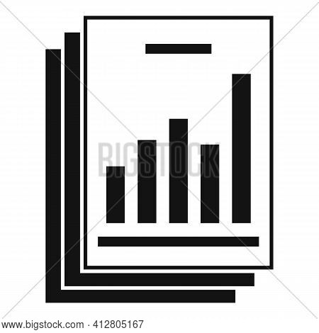 Restructuring Analysis Icon. Simple Illustration Of Restructuring Analysis Vector Icon For Web Desig