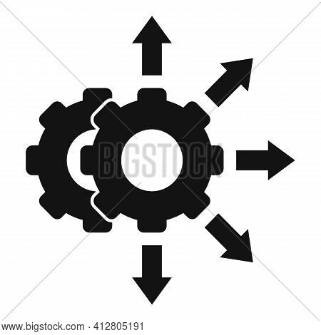Project Restructuring Icon. Simple Illustration Of Project Restructuring Vector Icon For Web Design
