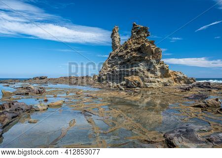 Amazing Eagles Nest Rock In Victoria, Australia