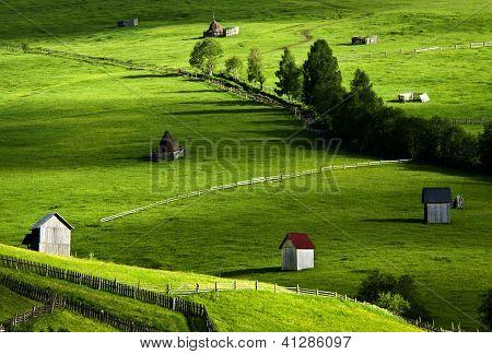 Beautiful Landscape in North of Romania